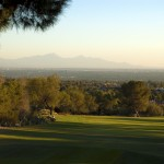 Skyline Country Club - Fairway overlooking the city from the Tucson Arizona golf community